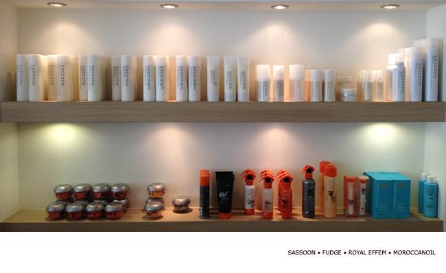 NewlooK HAIRSTYLING Sassoon, Fudge, SEB MAN en Moroccanoil producten in de kapperzaak