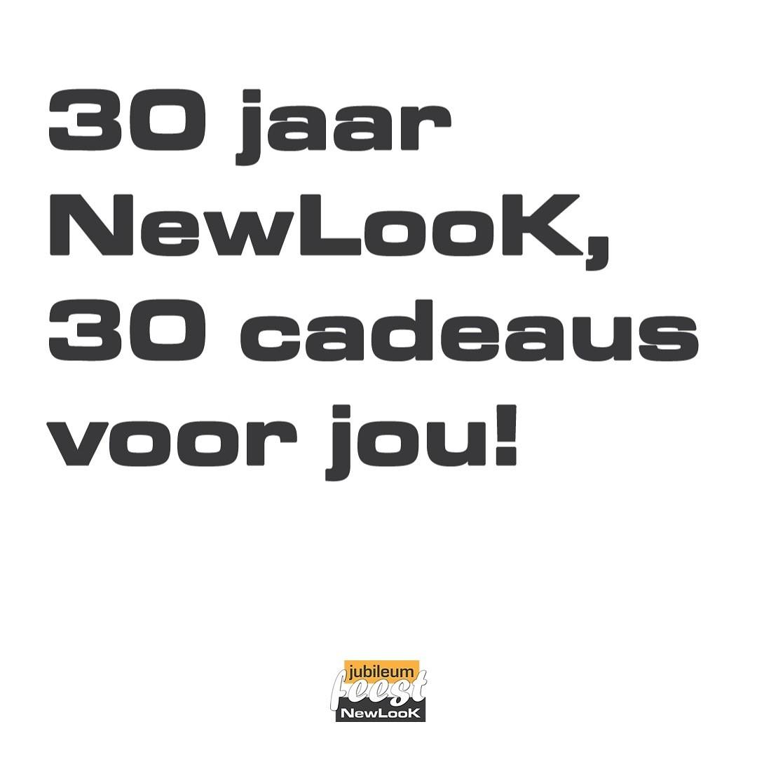 30 jaar newlook, 30 cadeaus voor jou