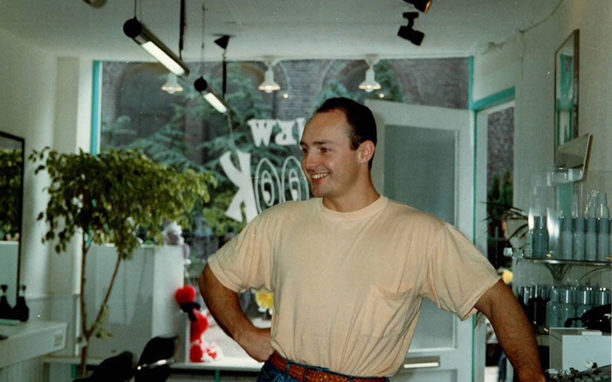 maurice early days in kapperszaak newlook
