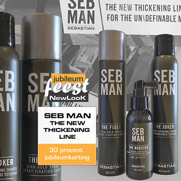 SEB MAN'S THE NEW THICKENING LINE The Joker, The Booster & The Fixer